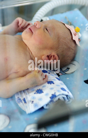 Pediatric Clinic of the Medical University Emergency Newborns - Stock Photo