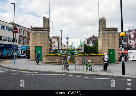 Public Toilets on The Spot in Derby City Centre - Stock Photo