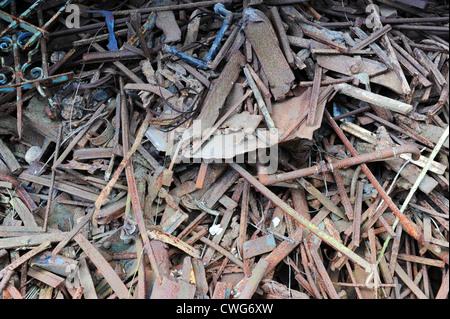 Scrap metal and iron uk - Stock Photo