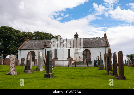Building, Church, Ruthwell parish church - Stock Photo
