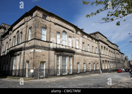 university of edinburgh old college building, scotland, uk, united kingdom - Stock Photo