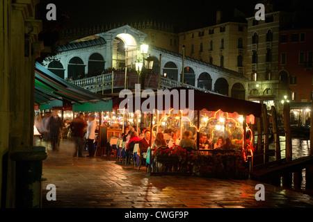 Venice Rialto Bridge - Stock Photo