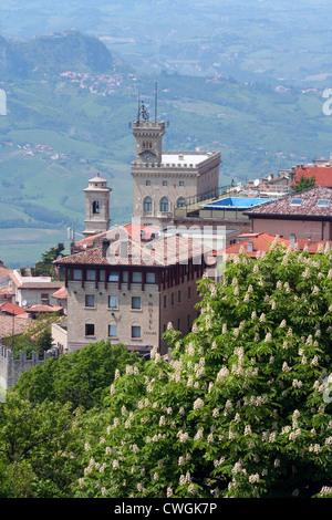 San Marino Republic, San Marino city - Stock Photo