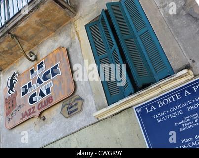 le Haut-de-Cagnes, Cagnes-sur-mer, Nice, Cote d'Azur, France - Stock Photo