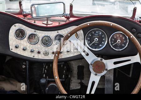 a classic mg car dashboard stock photo royalty free image 30658495 alamy. Black Bedroom Furniture Sets. Home Design Ideas
