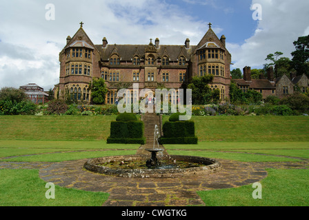Knightshayes Court and garden, near Tiverton in Devon. Victorian country house with richly decorated interiors and - Stock Photo