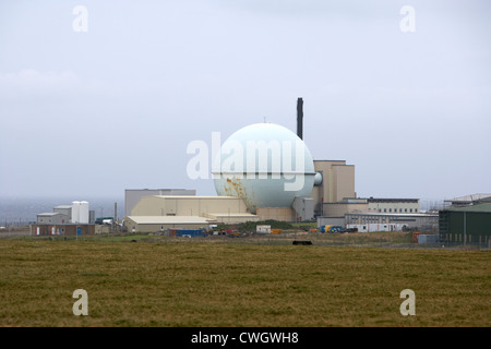 dounreay nuclear power development establishment Scotland, uk, united kingdom - Stock Photo