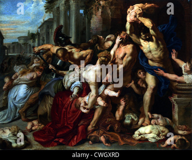 The Massacre of the Innocents by Peter Paul Rubens - Stock Photo