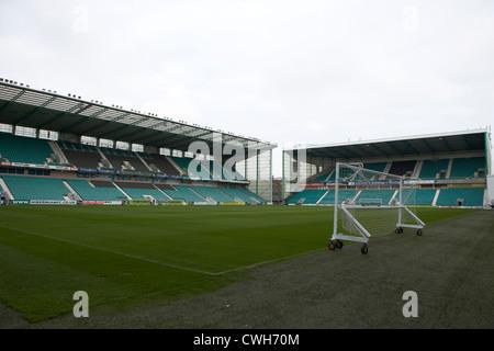 easter road football stadium hibernian football club edinburgh, scotland, uk, united kingdom - Stock Photo