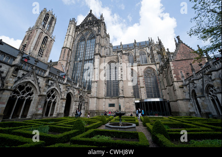 St. Martin's Cathedral, Utrecht, Netherlands - Stock Photo