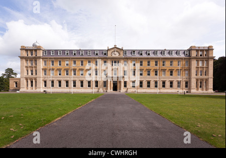 Exterior facade of the Former Army Staff College Royal Military Academy Sandhurst. - Stock Photo