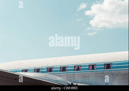 airplane,commercial airplane,window - Stock Photo
