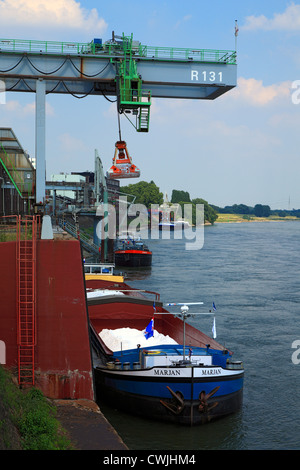 D-Krefeld, Rhine, Lower Rhine, Rhineland, North Rhine-Westphalia, NRW, D-Krefeld-Uerdingen, Bayer AG, Uerdingen - Stock Photo