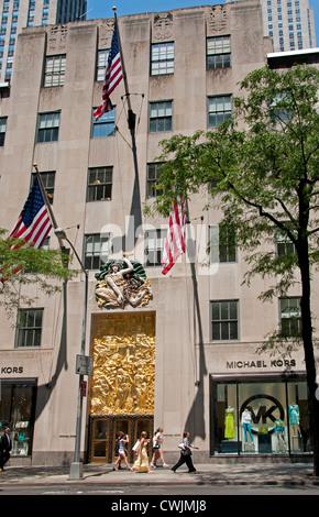 Michael kors 5th avenue new york rockefeller center for Michael kors rockefeller center