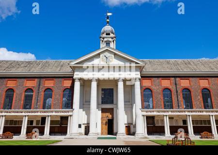 England, London, Chelsea, The Royal Hospital - Stock Photo