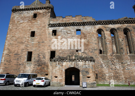 linlithgow palace west lothian scotland - Stock Photo