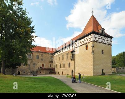 Budyne nad Ohri, Czech Republic - Stock Photo