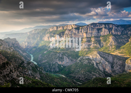 Gorge du Verdon in the Haute-Provence of France - Stock Photo