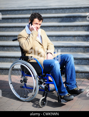 Wheelchair user - Stock Photo