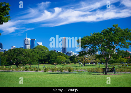 New Farm Park, Brisbane Queensland Australia - Stock Photo