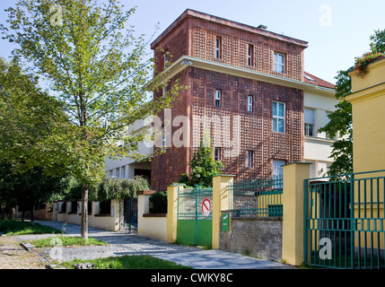 Vila Ladislava Machone, Dykova 4, Vinohrady, Praha, Ceska republika - Stock Photo