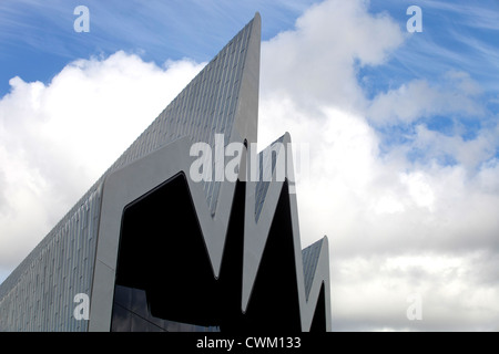 The Riverside Museum, Glasgow. Designed by Iraqi architect Zaha Hadid. - Stock Photo