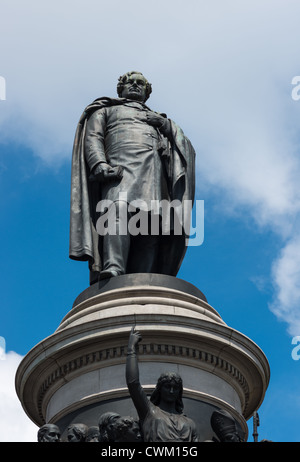 O'Connell Monument by sculptor John Henry Foley in Dublin Ireland. - Stock Photo