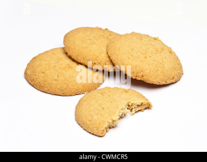 ginger biscuits - Stock Photo