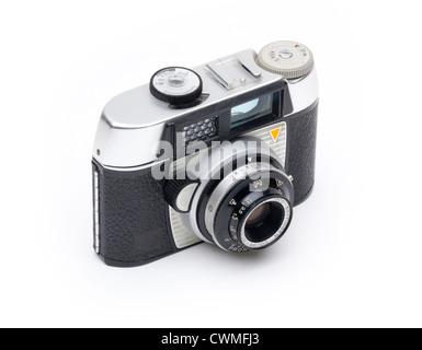 old Wirgin Edixa 125 35mm compact film camera - Stock Photo