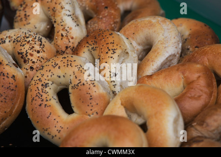 Close-up of bagels - Stock Photo