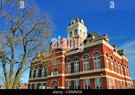 Oregon, Illinois, USA. The Ogle County Courthouse by architect George O. Garnsey.