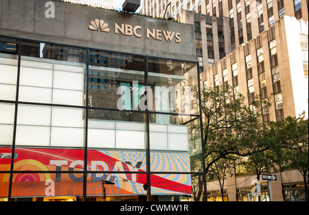 Nbc News And Today Show Studio In Rockefeller Center Nyc