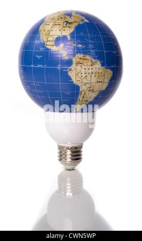 Man holding holographic globe; Concept World energy lighting the world green energy world power - Stock  sc 1 st  Alamy & Concept: World energy lighting the world green energy world ... azcodes.com