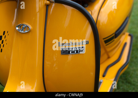 vintage vespa piaggio scooter vespas 150 super bangkok thailand stock photo royalty free. Black Bedroom Furniture Sets. Home Design Ideas