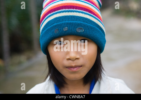 Young girl from Hoi An, Vietnam - Stock Photo