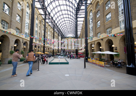 Hays Galleria Shopping Mall And Roof Structure On London