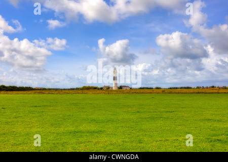 lighthouse, Kampen, Sylt, Schleswig-Holstein, Germany - Stock Photo