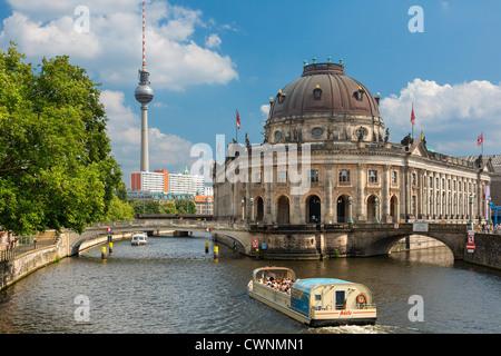 Europe, Bode museum, Museum Island (Museumsinsel), Berlin, Germany - Stock Photo