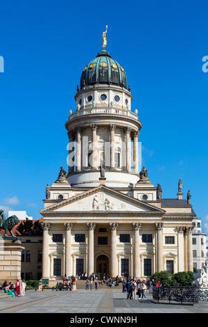 Berlin-Mitte, Gendarmenmarkt, Deutscher Cathedral - Germany - Stock Photo