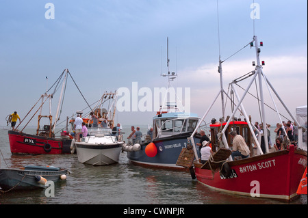 Fishing Festival at Old Leigh Essex - Stock Photo