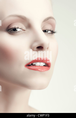 Beauty young woman - Stock Photo