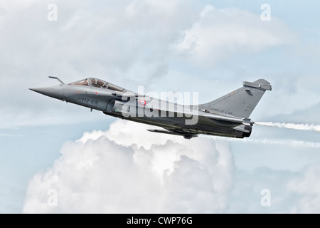 A Dassualt Rafale fighter aircraft of the French air force - armee de l'air - Stock Photo