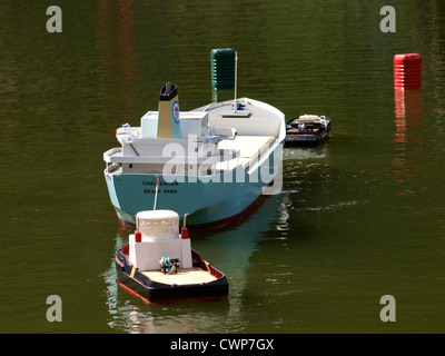 Remote controlled boats, UK - Stock Photo