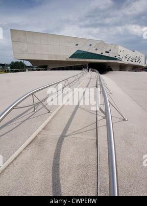 Phaeno Science Center in Wolfsburg Germany ; Architect Zaha Hadid - Stock Photo