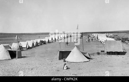 Turkish Red Crescent in Palestine during World War I - Stock Photo