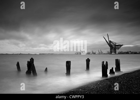 Felixstowe, Suffolk - Stock Photo