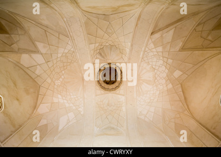 vault of the mosque, the Char Bakr Complex, Bukhara, Uzbekistan - Stock Photo