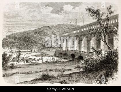Pont-du-Gard - Stock Photo