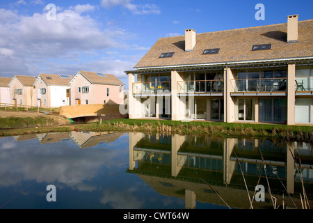 Typical Holiday Homes On Lower Mill Estate Development The Cotswold Water Park Near Cirencester