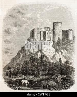 Chateau de Falaise - Stock Photo